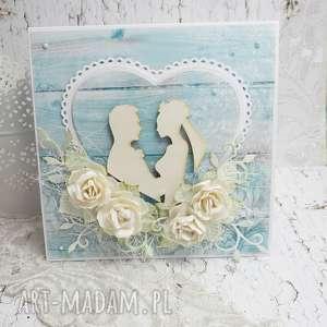 Prezent Wiejski ślub- kartka w pudełku, ślub, pudełko-na-ślub, młodej-parze,