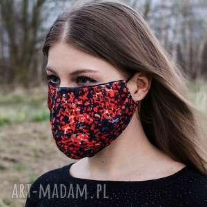 maseczki drukowana maska maseczka we wzór