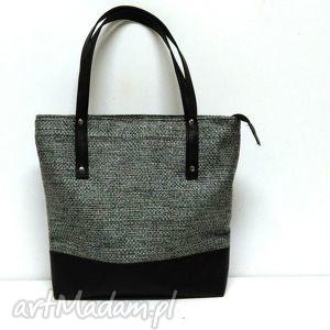 prezent na święta, classic shopper bag, dowolny, kolor, klasyczna