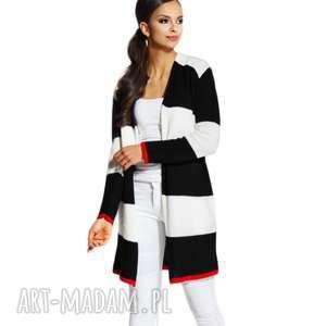 sweter stripes, paski, płaszcz, swetry, długi, świąteczne prezenty
