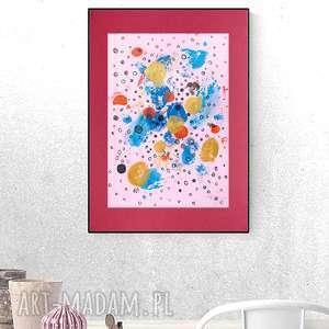 oryginalna grafika do sypialni, dekoracja na ścianę, abstrakcja salonu