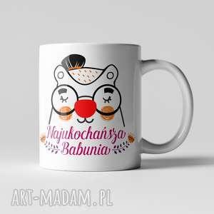 Prezent Kubek Najukochańsza Babcia, personalizacja, dzieńbabci, babcia, prezent