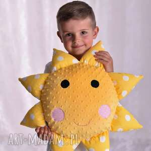 hand-made pokoik dziecka poduszka dziecięca słońce