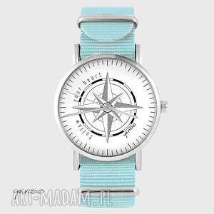 zegarki zegarek, bransoletka - kompas niebieski, nato