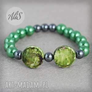 Zielona perełka - hand-made
