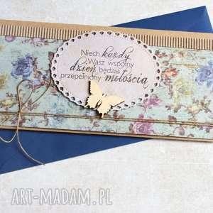 kartka - kopertówka :: ślubne życzenia, ślub