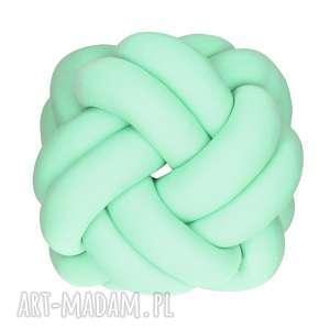 y o l i n k a ręcznie pleciona dekoracyjna poduszka supeł turks head