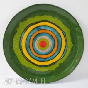 ceramika rezerwacja dekoracyjny talerz ceramiczny, ceramiczny