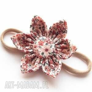 dla dziecka opaska elastyczna do włosów kwiatek ruth