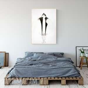 Grafika 70 x 100 cm wykonana ręcznie art krystyna siwek obraz
