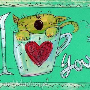 Walentynka - 3, kartka, miłość, walentynki, 4mara, prezent, okolicznościowa