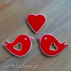 ceramika romantyczne ptaszki, ptaszek, serce, walentynki, romantyczne, miłość, ozdoba