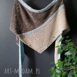 handmade dodatki chusta bawełna & len