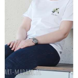 VANILLA FLOWER T-shirt Oversize, oversize