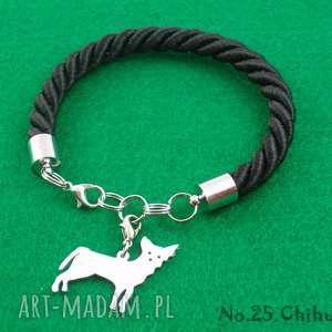 Prezent Bransoletka chihuahua pies nr.25, bransoletka, pies, prezent, rękodzieło