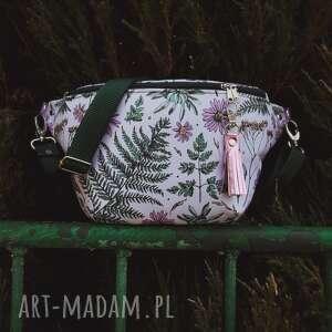 nerka xxl paprocie i kwiaty, liście paproci, poliester wodoodporny