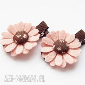 handmade ozdoby do włosów spinki kwiatki kolekcja sophie