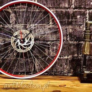 zegar red wheel, zegar, rower, rowerzysta, zegarek, prezent, urodziny dom