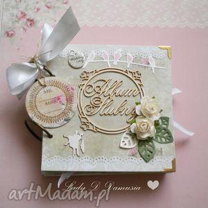 Wyjątkowy album na fotografie ślubne, ślub, fotografie, para, młoda, wesele