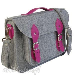 15 inch Laptop Macbook Pro, Pro Retina - Torba, torba, filc, skóra, rękodzieło, róż