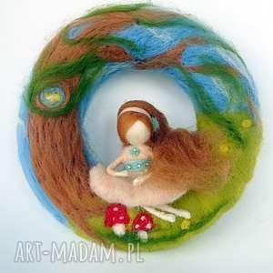 magisches-atelier wianek dekoracyjny w zaczarowanym lesie - girlanda, prezent