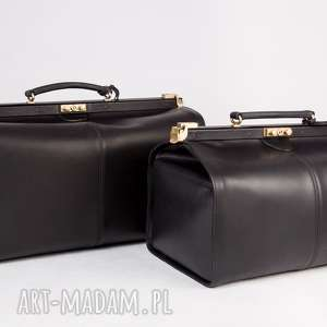 skórzany kufer podróżny/ torba lekarska duża, kufer, torbaskórzana, torbapodróżna