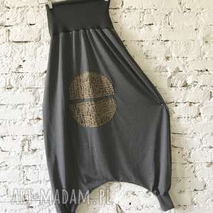 China pants-spodnie spodnie ququ design etno spodnie, luźne joga