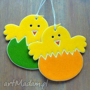 ceramika kurczaczki, kurczaczek, wielkanoc, zawieszka, wiosenna