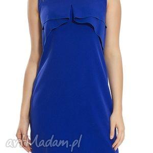 sukienki sukienka wizytowa w kolorze kobaltu rozmiar 42, wizytowa, wieczorowa