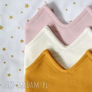 hand-made ubranka opaska korona biała