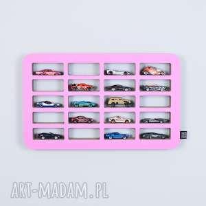 Półka na resoraki SAMOCHODZIKI hot wheels | różowy, chłopiec, dziewczynka, organizer