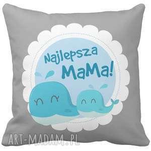 handmade poduszki poduszka na prezent najlepsza mama dzień matki mamy 6778