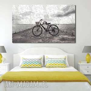 obraz xxl rower 2 - 120x70cm na płótnie loft design, rower, obraz, pojazd