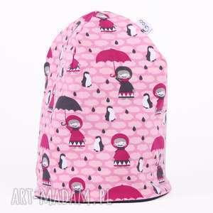 Czapka laleczki z parasolem, czapka