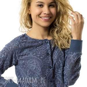 bluzka rozpinana mozaika, bluza, bluzka, onesize, uniwersalna