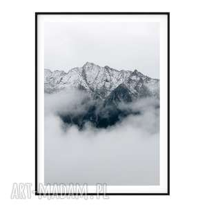 plakaty plakat skandynawski góry, plakat, poster, skandynawski, mountains