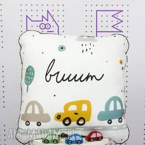 poduszka brum 46x46, auta, brum, poduszka, jasiek, dekoracyjna, chłopca