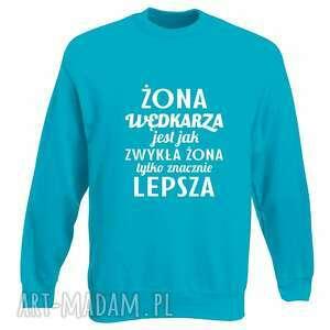bluzy bluza z nadrukiem dla wędkarza, prezent najlepszy wędkarz, wędkarstwo