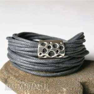 bransoletka sznureczki, bransoletka, owijana, sznurki, oplatana