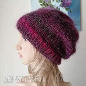 handmade czapki niesamowicie miękka i puchata czapka