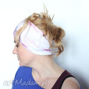 ręcznie zrobione opaski opaska na włosy farbowana