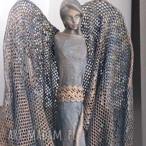 hand-made dekoracje anioł szczęścia