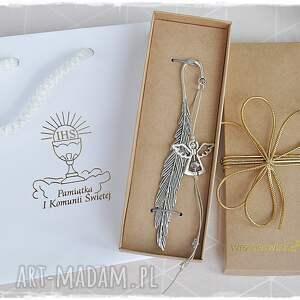 hand-made pomysł na prezent zakładka do pisma świętego, komunię