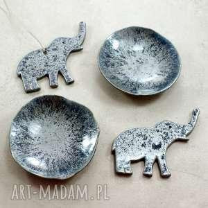 handmade ceramika zestaw ze słonikiem