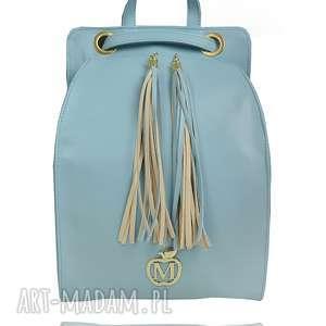 plecaki manzana plecak/torebka wygodny styl- baby blue, plecak, torebka