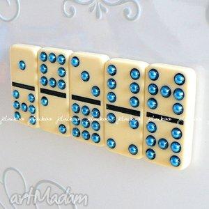 Domino magnesy #6 jelonkaa magnesy, domino, lodówka, tablica,