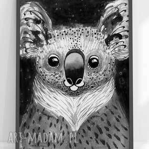 plakaty plakat a2 - miś koala, plakat, miś, wydruk, grafika, ilustracja