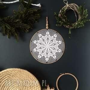 hand-made dekoracje łapacz snów