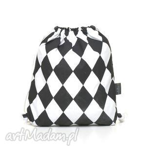 handmade dla dziecka plecak worek przedszkolaka romby