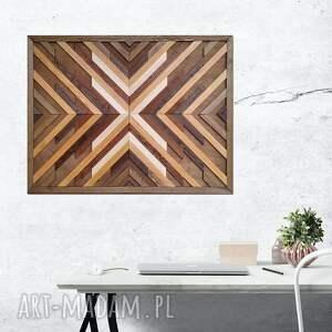 obraz z drewna, dekoracja ścienna /89 - eufrozyna/, dekoracja